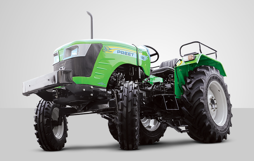 PREET 955 - 2WD 50 HP Tractor :: Manufacturer and Exporter of world