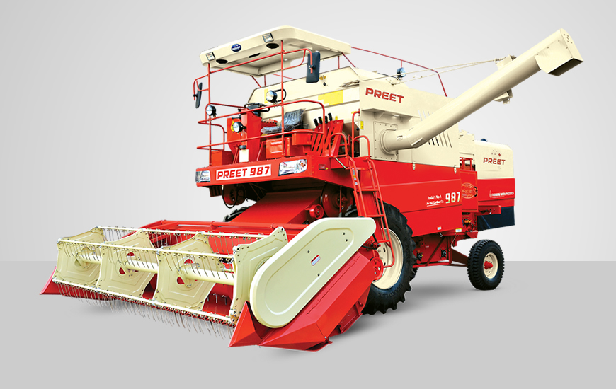 PREET Combine Harvesters - Product Range :: Manufacturer and