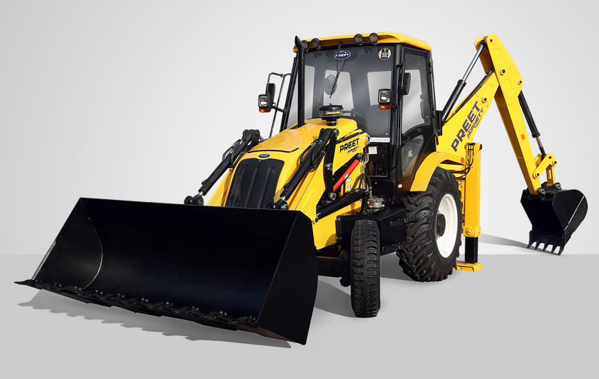 PREET Backhoe Loader :: Manufacturer and Exporter of world class