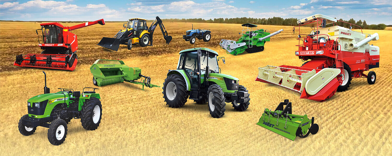 PREET :: Manufacturer and Exporter of world class Combine Harvesters